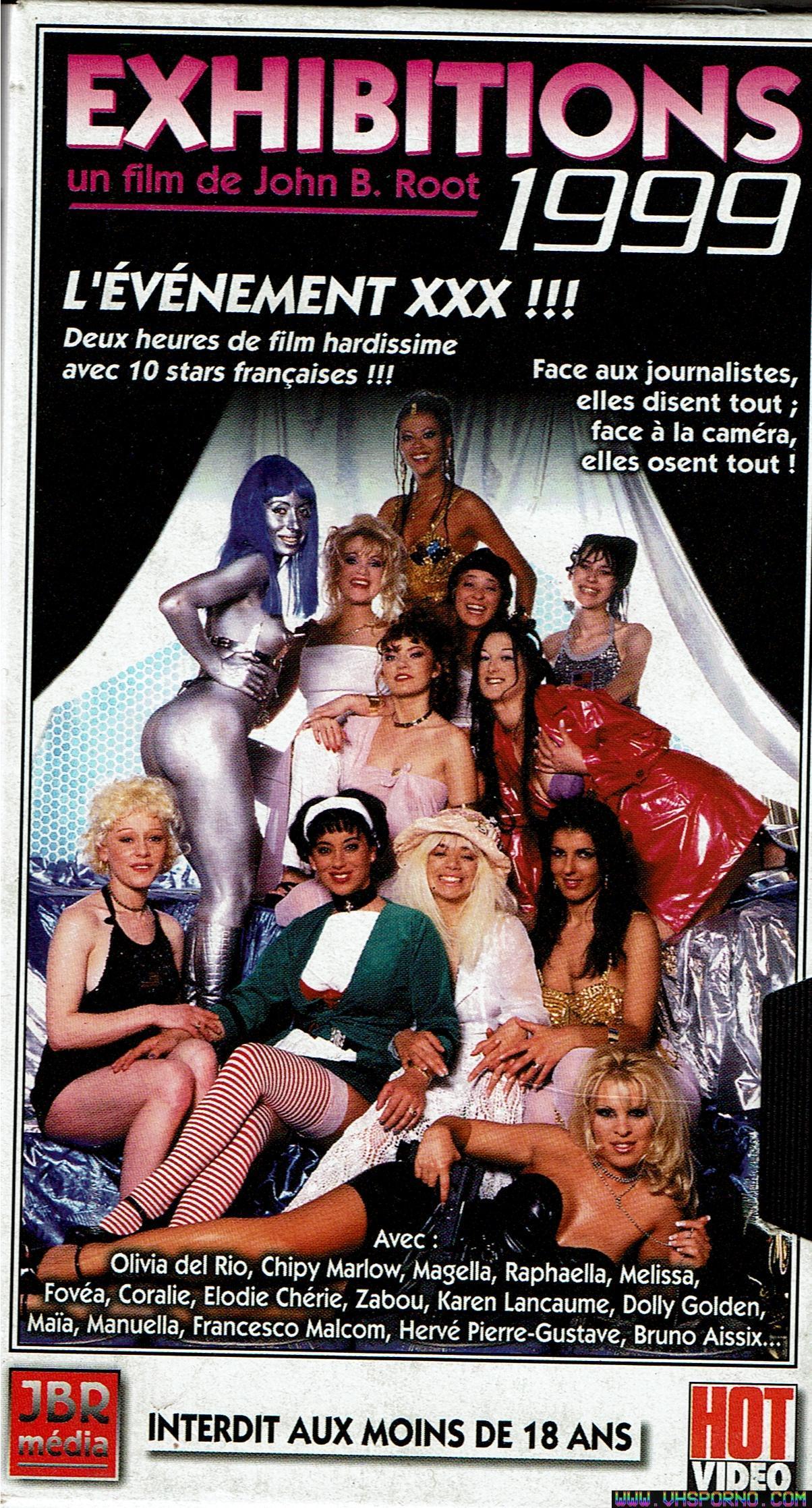 Pochette de Exhibitions 1999 Un film porno de John B Root • VHS Porno