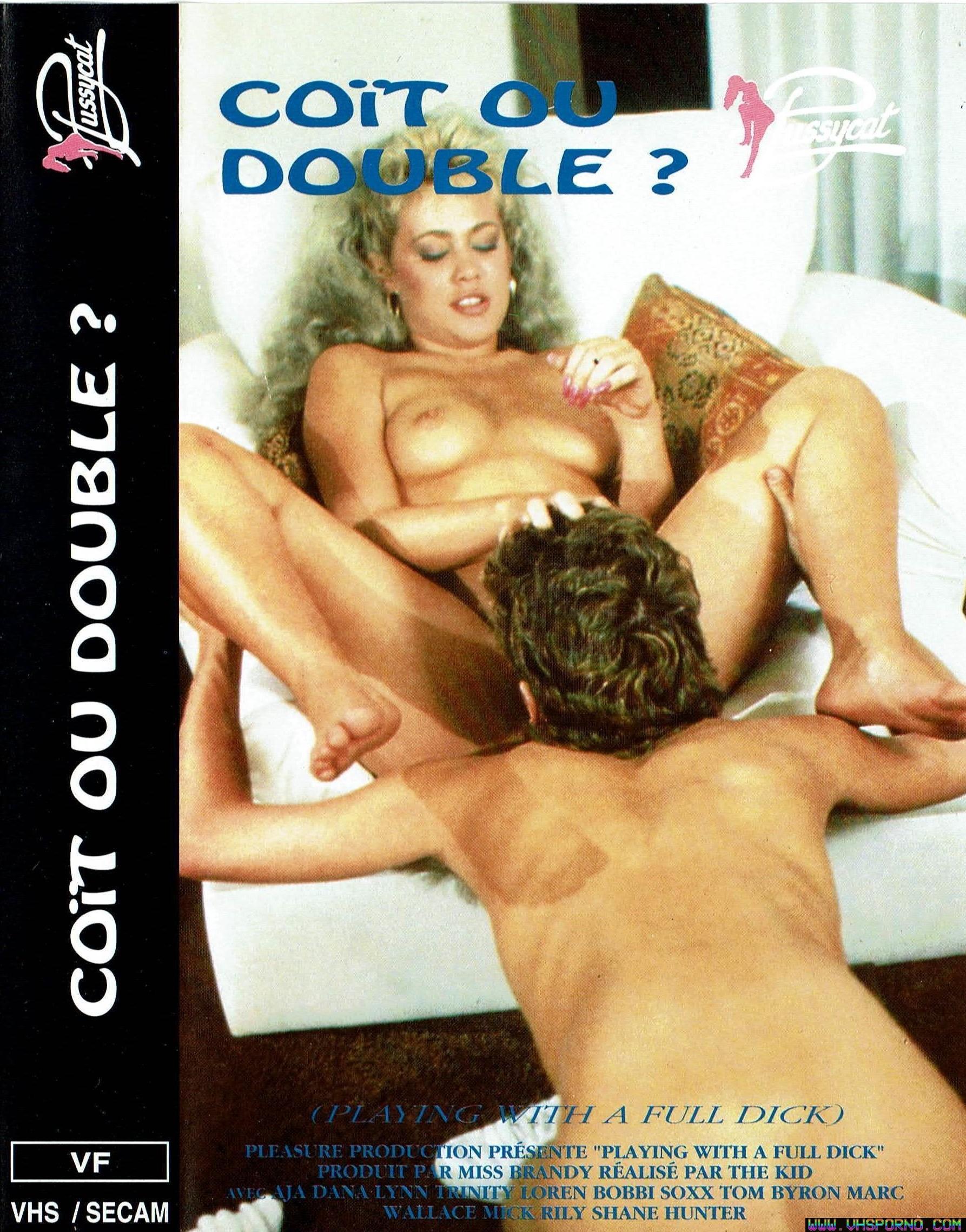 Pochette de Coït ou Double ? • La chronique du film porno sur VHS Porno