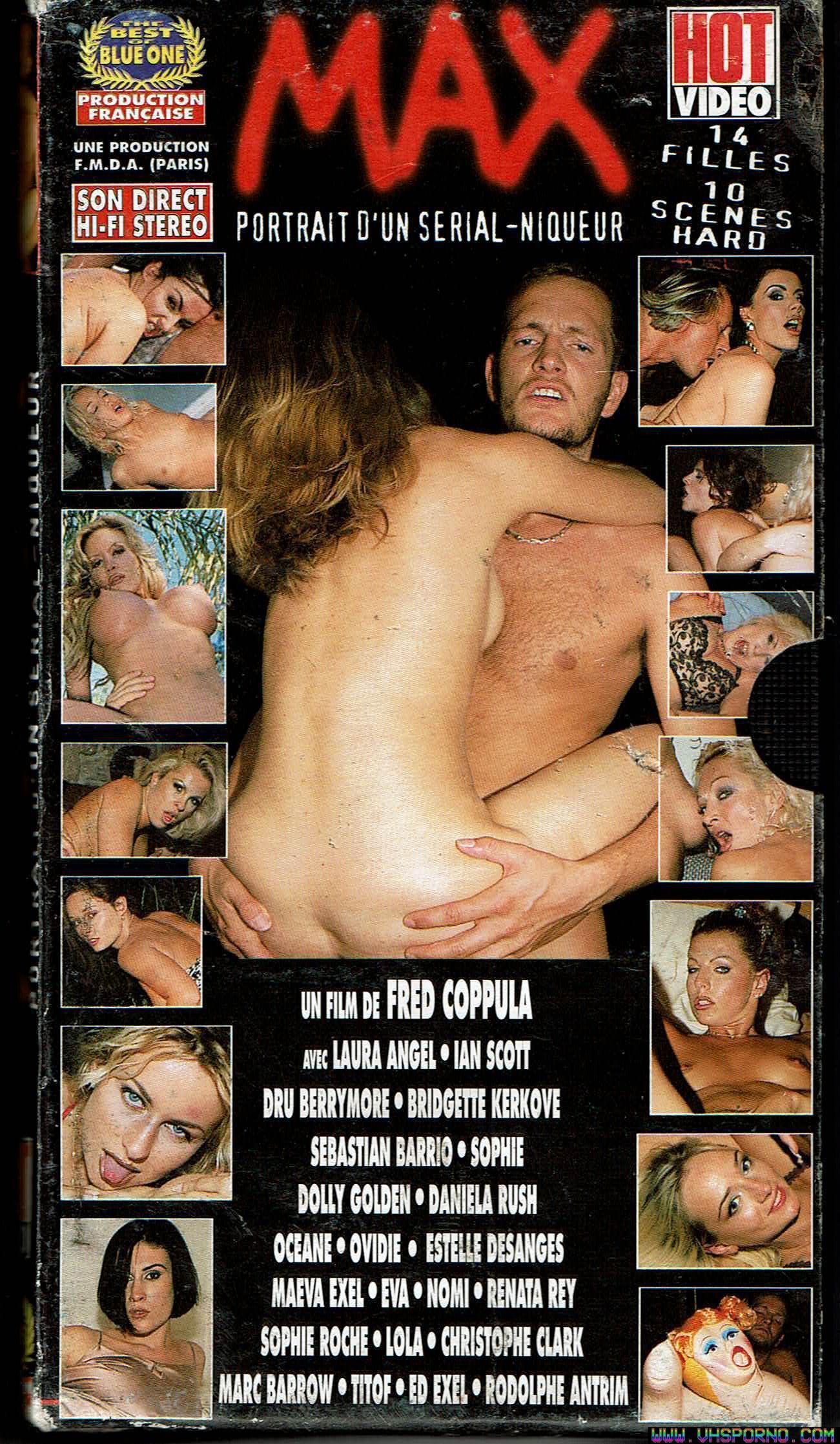 Pochette de Max, portrait d'un serial-niqueur un film de Fred Coppula • VHS Porno