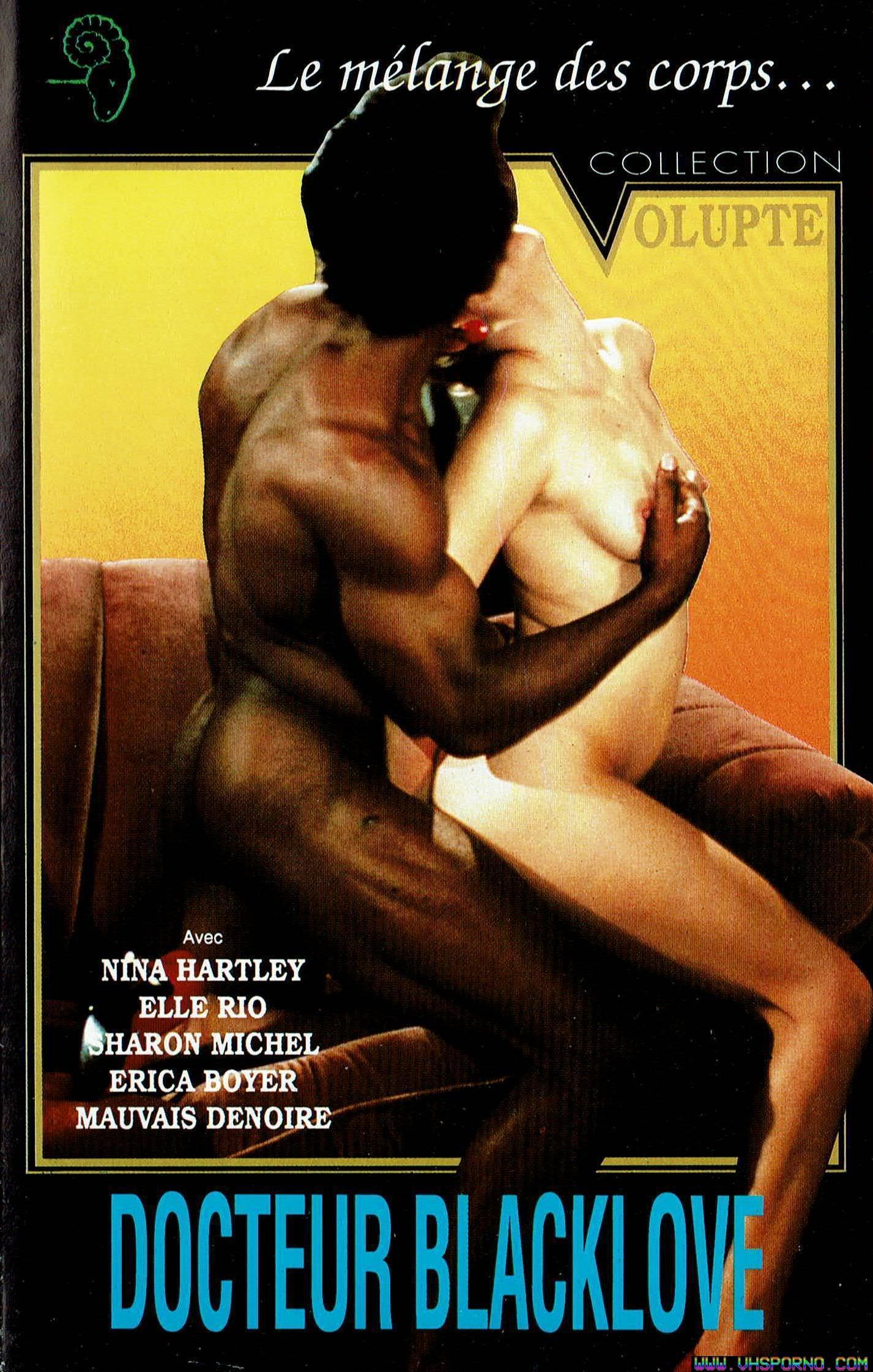 Pochette de Docteur Blacklove sur VHS Porno • Chronique de la VHS de 1986