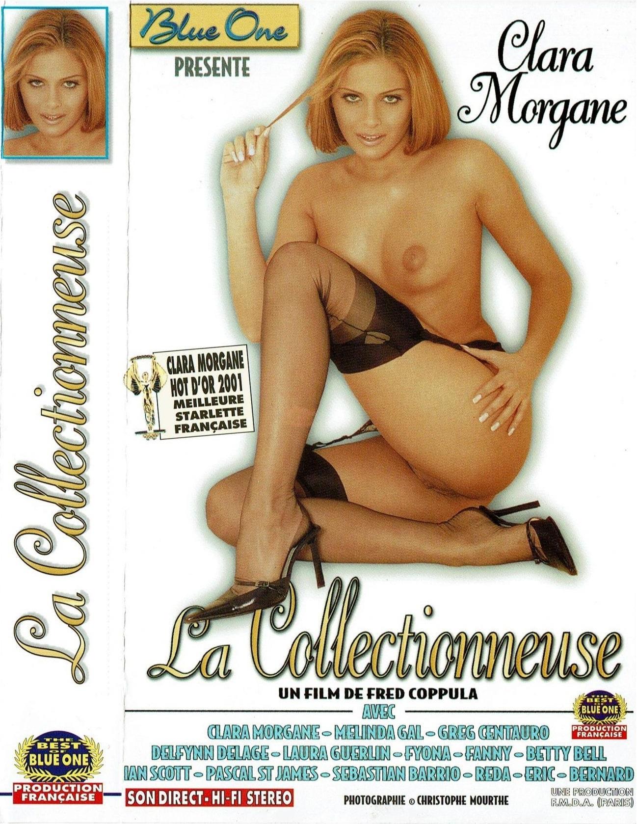 Pochette de La collectionneuse, un film X de 2001 avec Clara Morgane sur VHS Porno